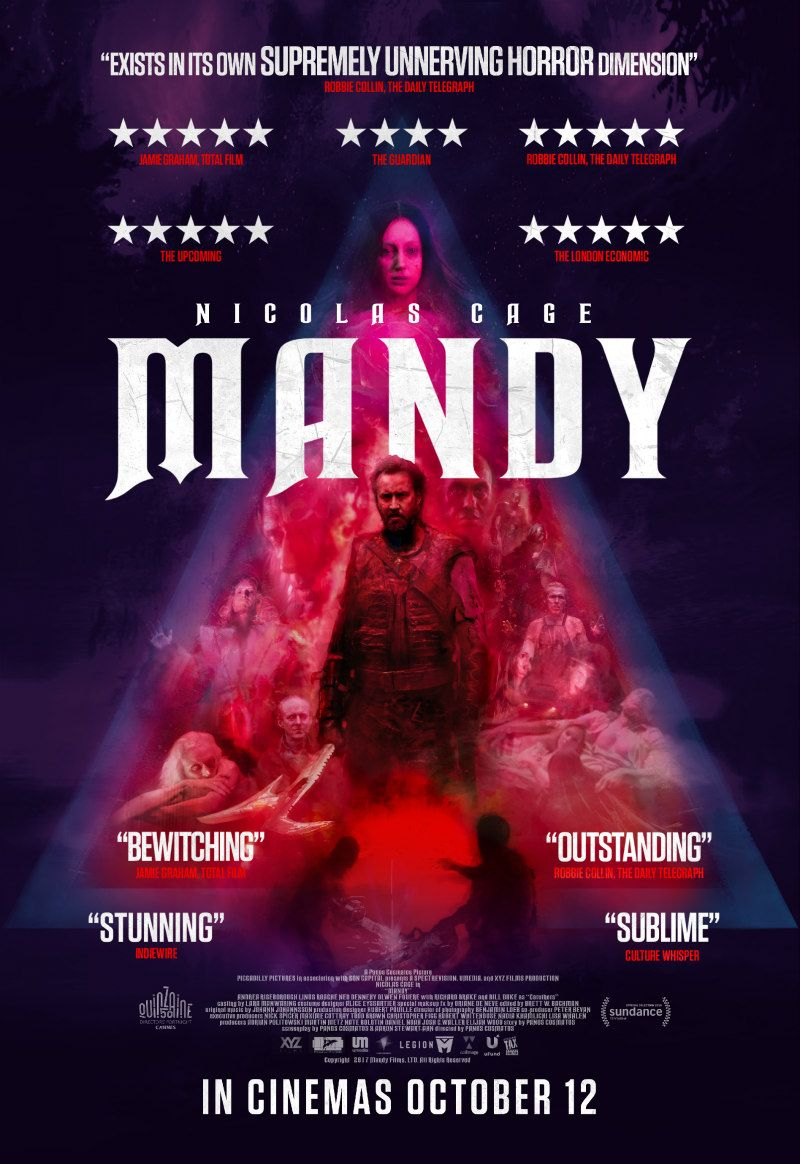 Image result for mandy movie poster