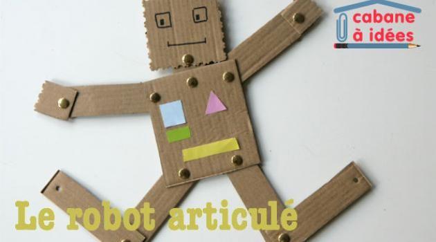 DIY enfants : des robots articulés