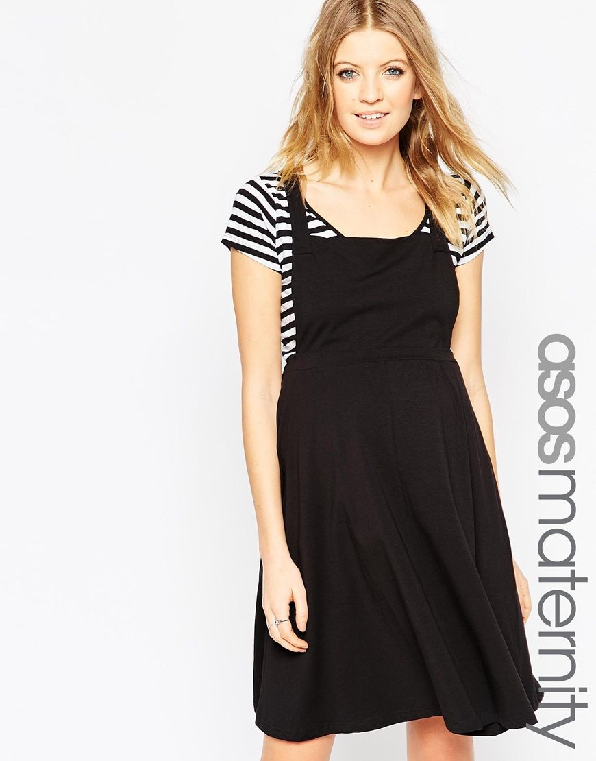 Image 1 of ASOS Maternity Pinafore Dress | Baby Henry | Pinterest ...