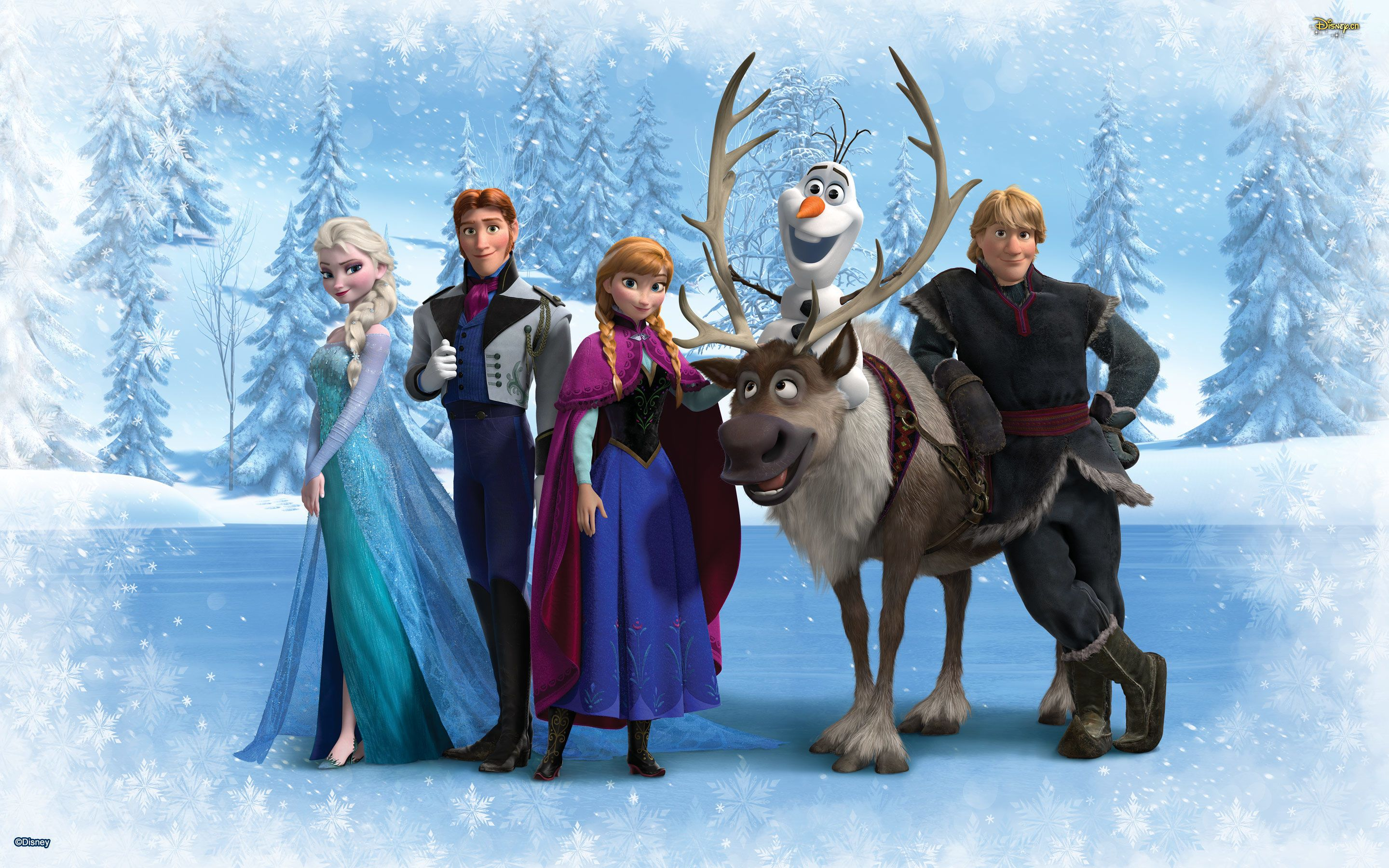 Top 5 Highest Grossing Animated Movies Frozen wallpaper