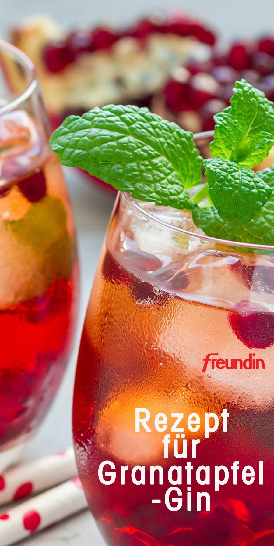 Rezept für Granatapfel-Gin | freundin.de