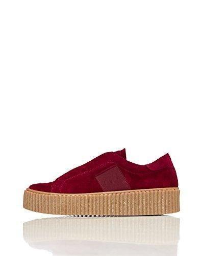 Ital-Design - Zapatillas de Material Sintético para niña, color Gris, talla 32 EU