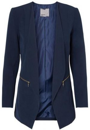 Vero moda kleid josephine blau