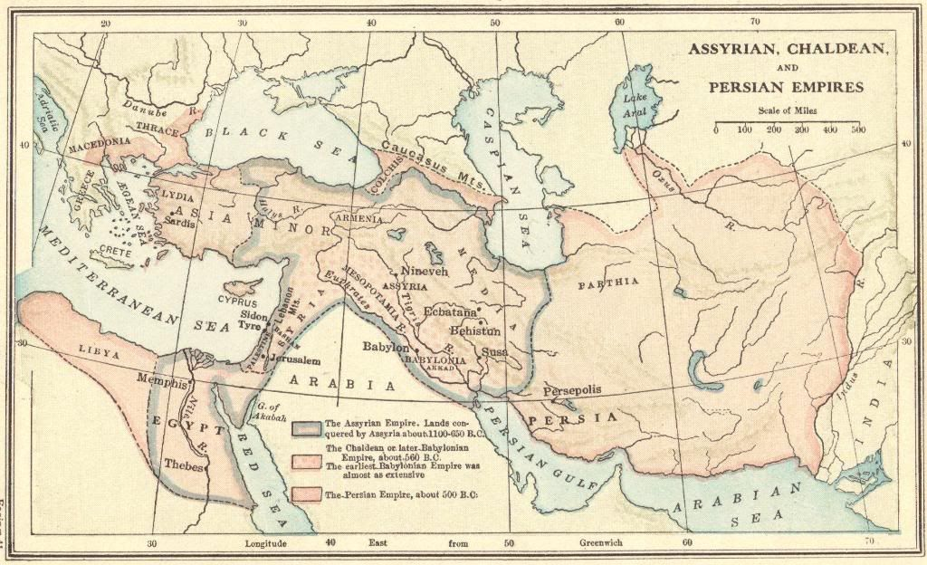 Ancient near east map of the assyrian babylonian chaldean and ancient near east map of the assyrian babylonian chaldean and persian empires of africa asia and europe 1100 500 bce gumiabroncs Images