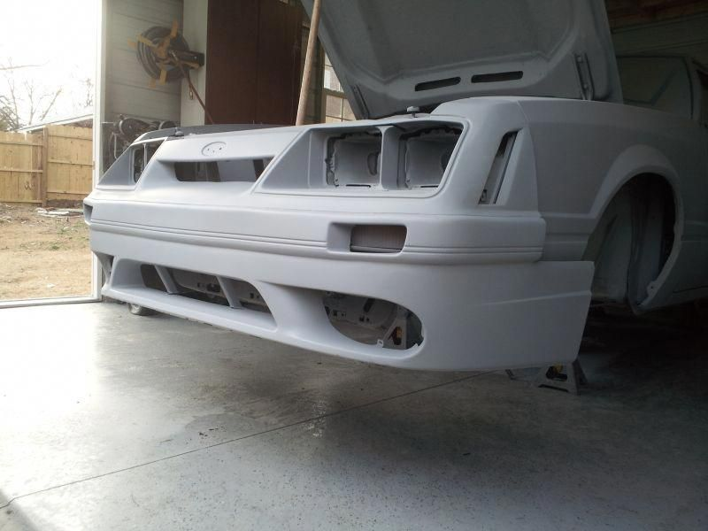 2001 Cobra Bumper Cover Lower Fox Lx Upper With Tiger Racing Flares Page 4 Ford Mustang Forums Corral Net Ford Mustang Forum Fox Body Mustang Mustang