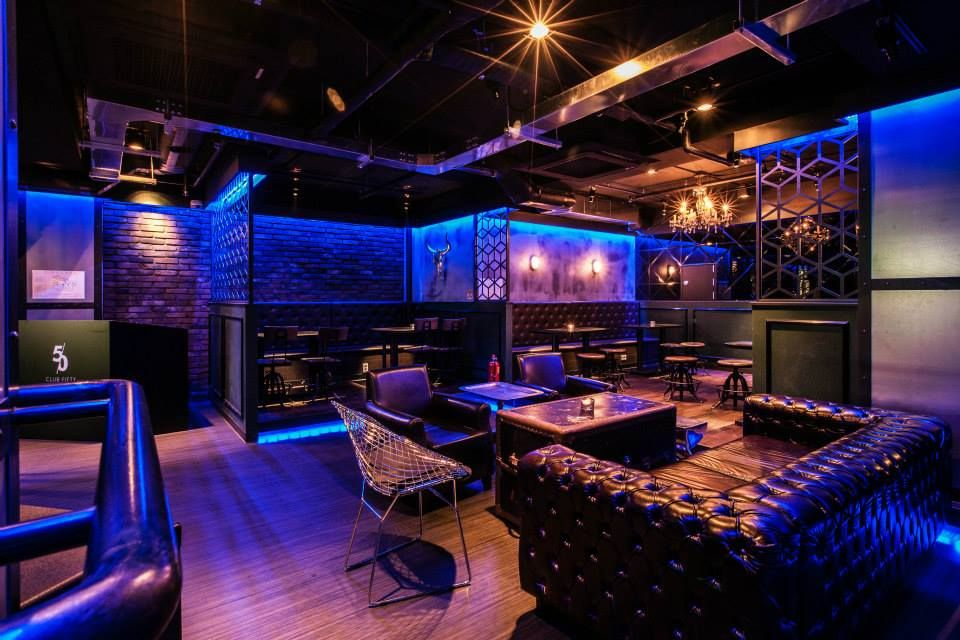 Club50 lounge club in seoul korea lounge club pub interior design kmgd my work - Discoteca ozona madrid ...