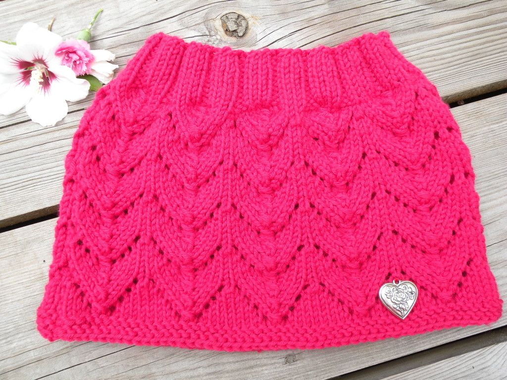 Lily knitted cowl (2)