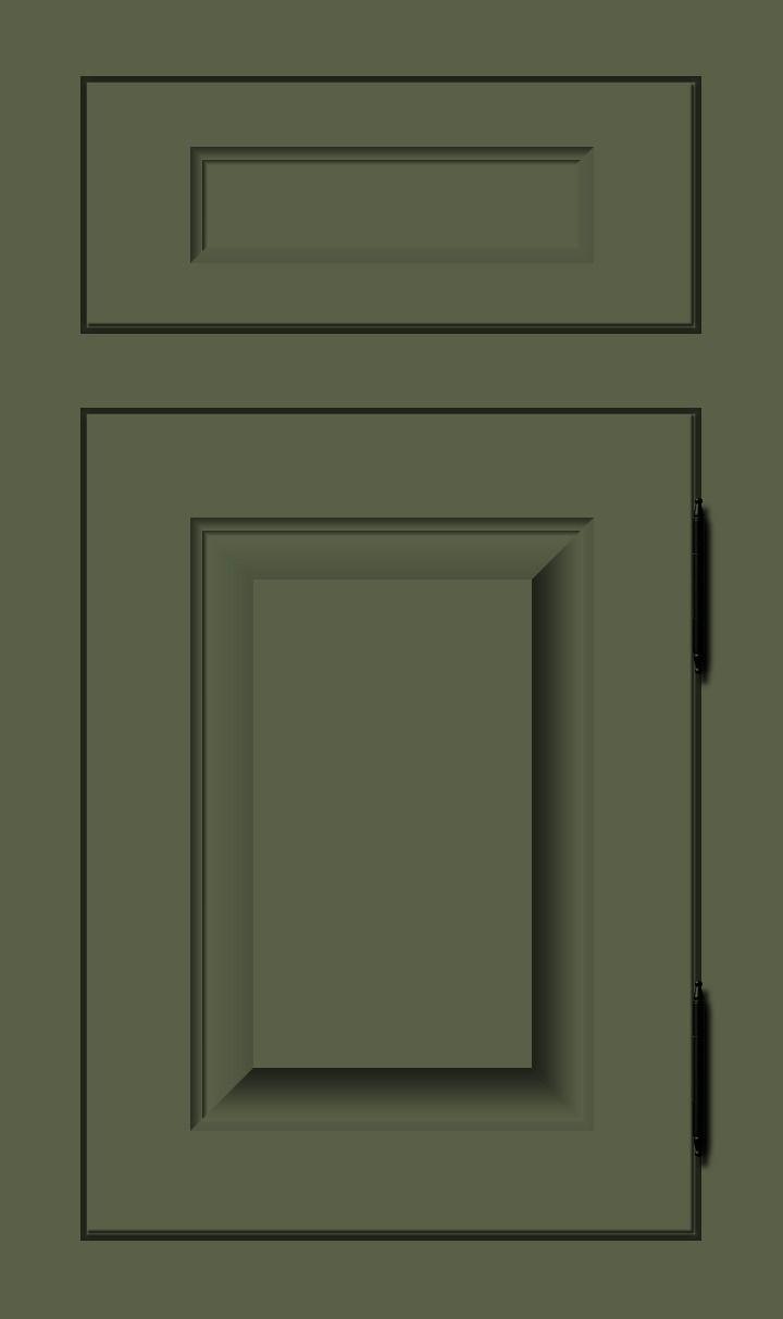 Sage Dark Gray Green Custom Color Cabinet Door Finish Purple Kitchen Cabinets Purple