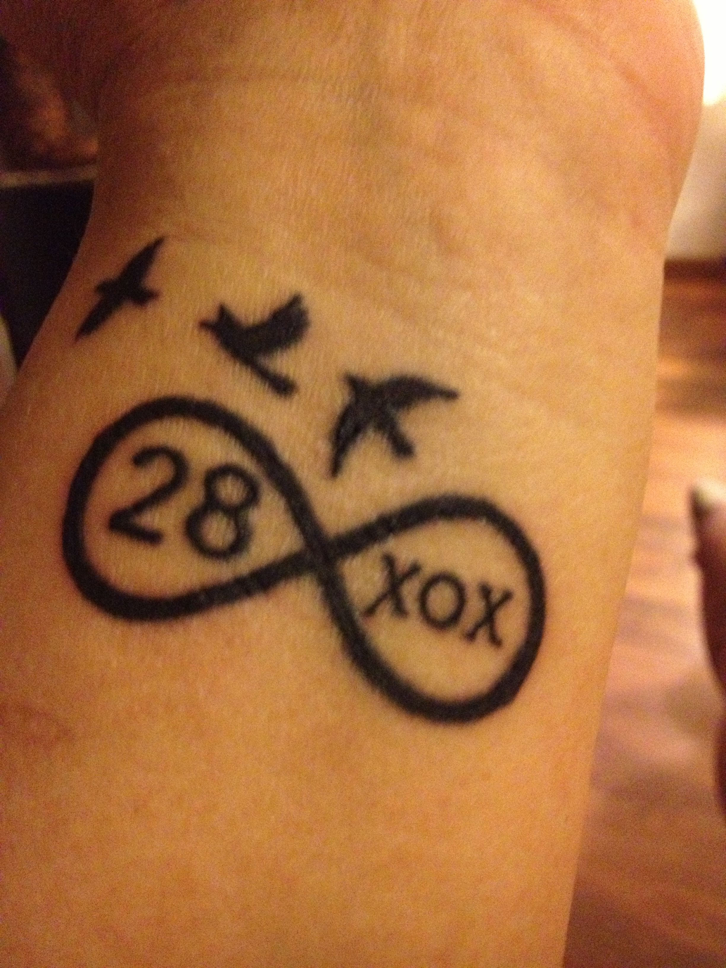 For my #28 with me forever!!! My freebird...