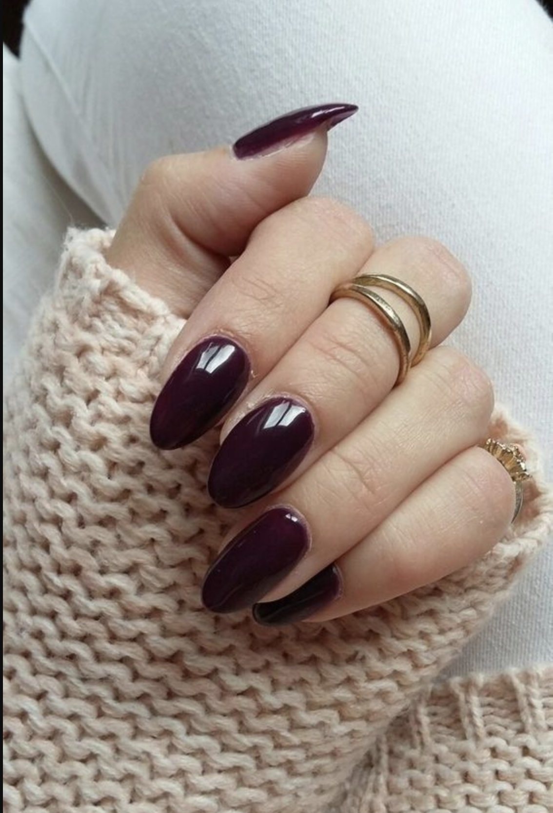 10 Popular Fall Nail Colors For 2019 An Unblurred Lady Almond Nails Designs Almond Acrylic Nails Short Acrylic Nails
