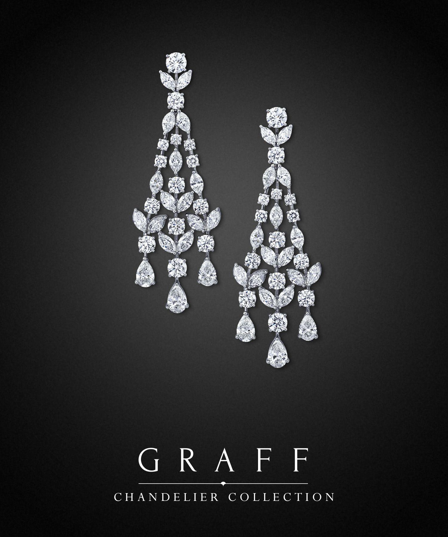 Graff Diamonds Chandelier Earrings