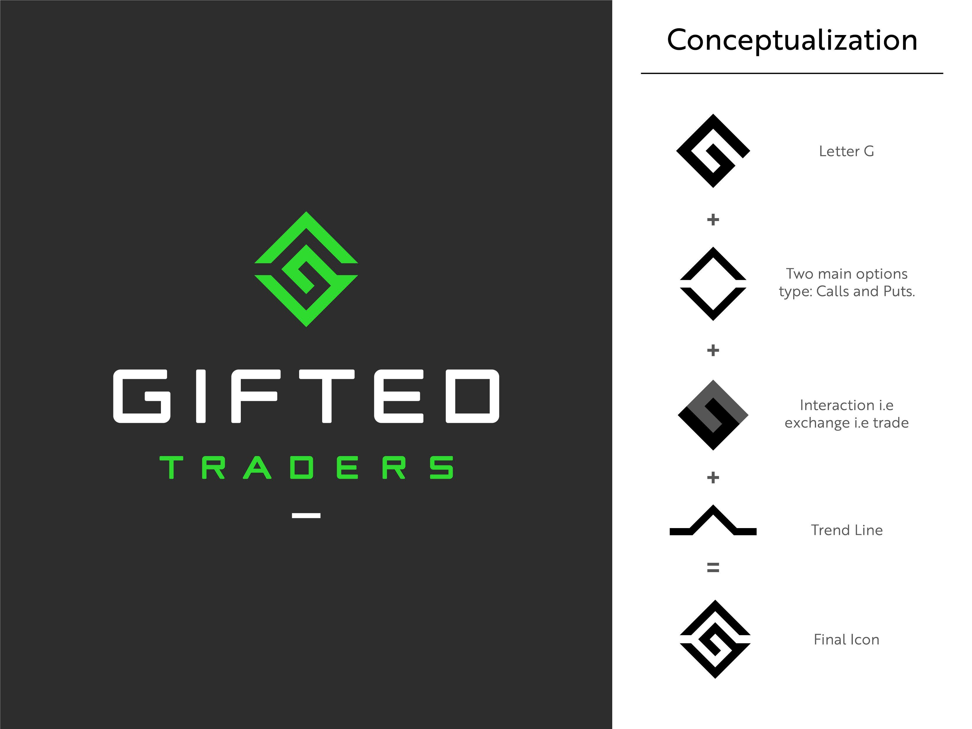 Gifted Traders Logo Company Logo Design Logo Design Logos