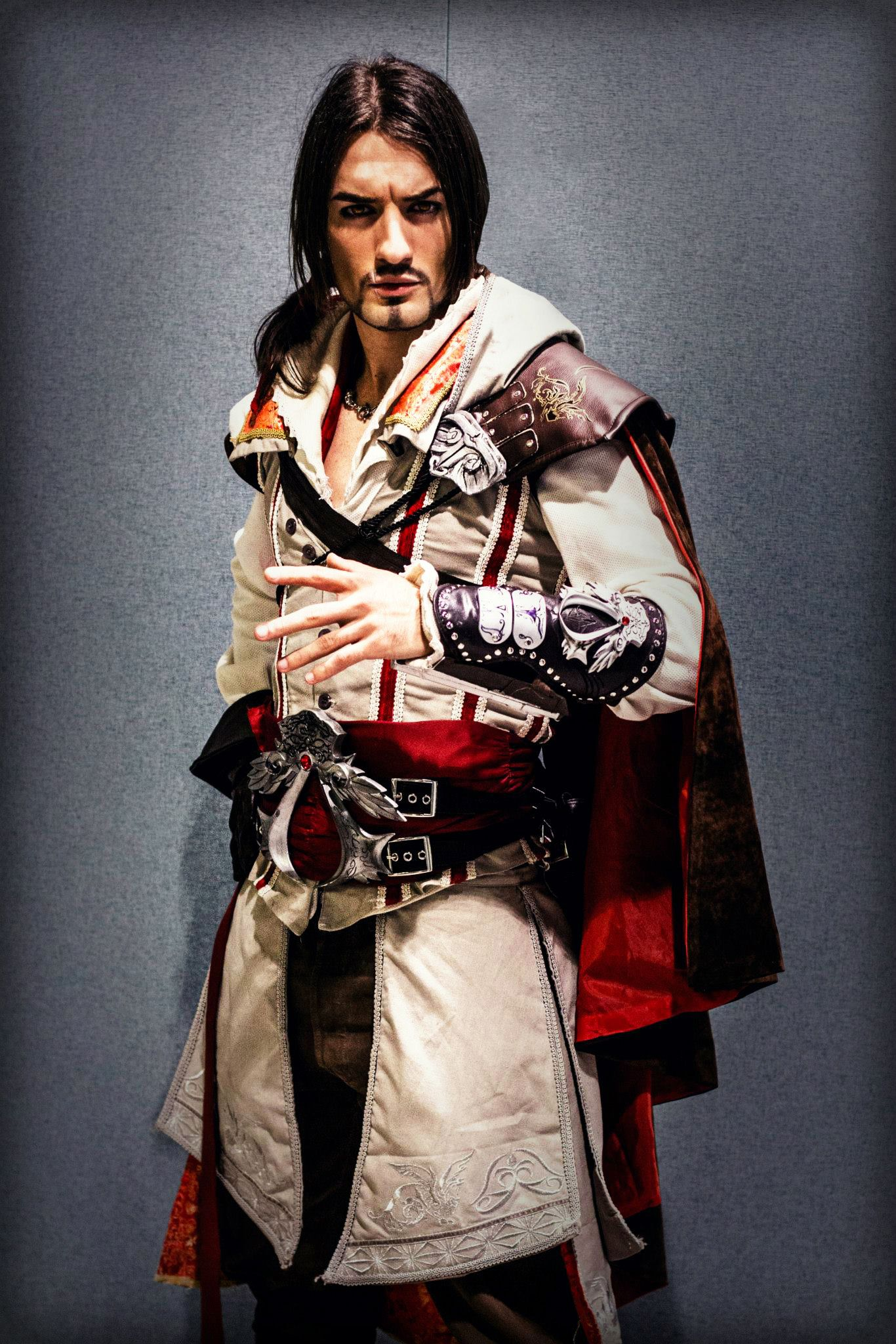 Ezio Auditore Cosplay Art Assassin S Creed 2 Lc By