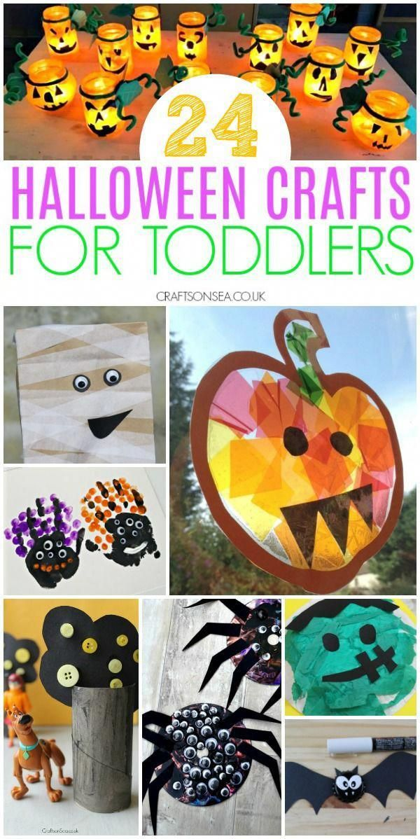 10+ Halloween craft projects for toddlers info