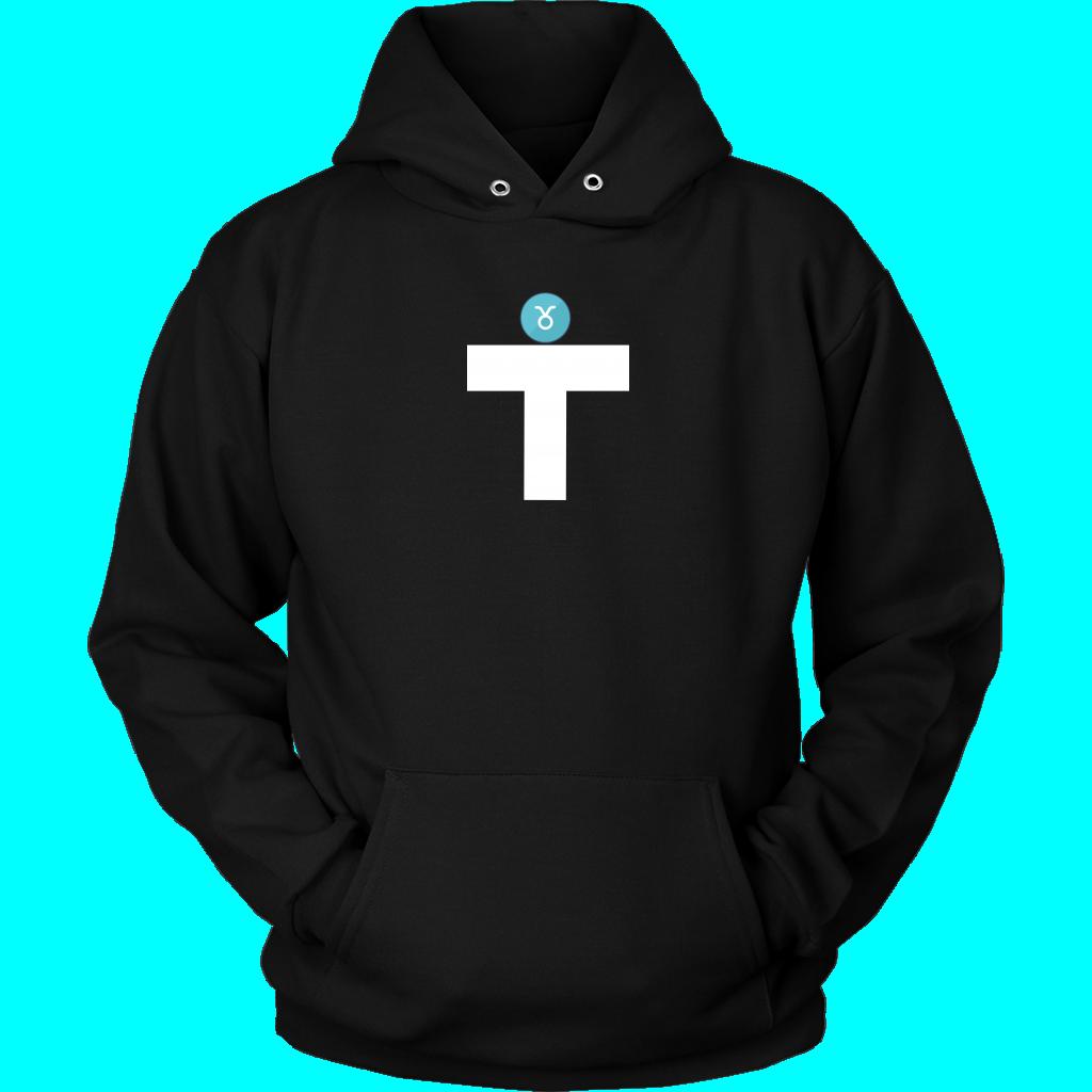 T-Zodiac Taurus Adult Hoodie - Black / L / Neutral Adult Hoodie