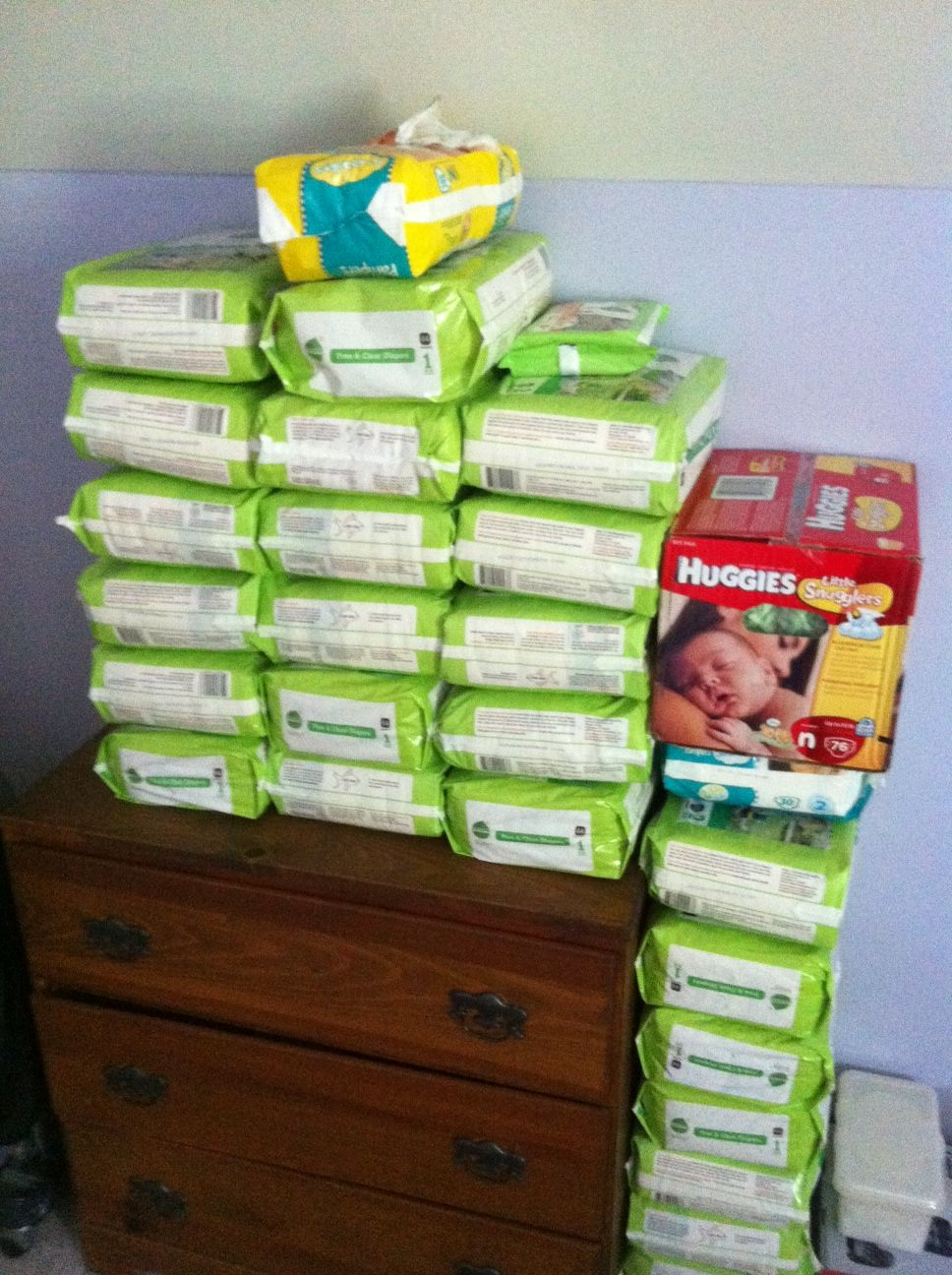 Diapers cost how much adult