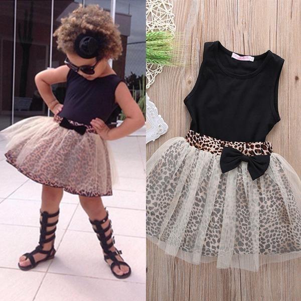 fe8592da24a Toddler Girl Leopard Print Tutu Skirt and Black Tank Top | Toddler ...