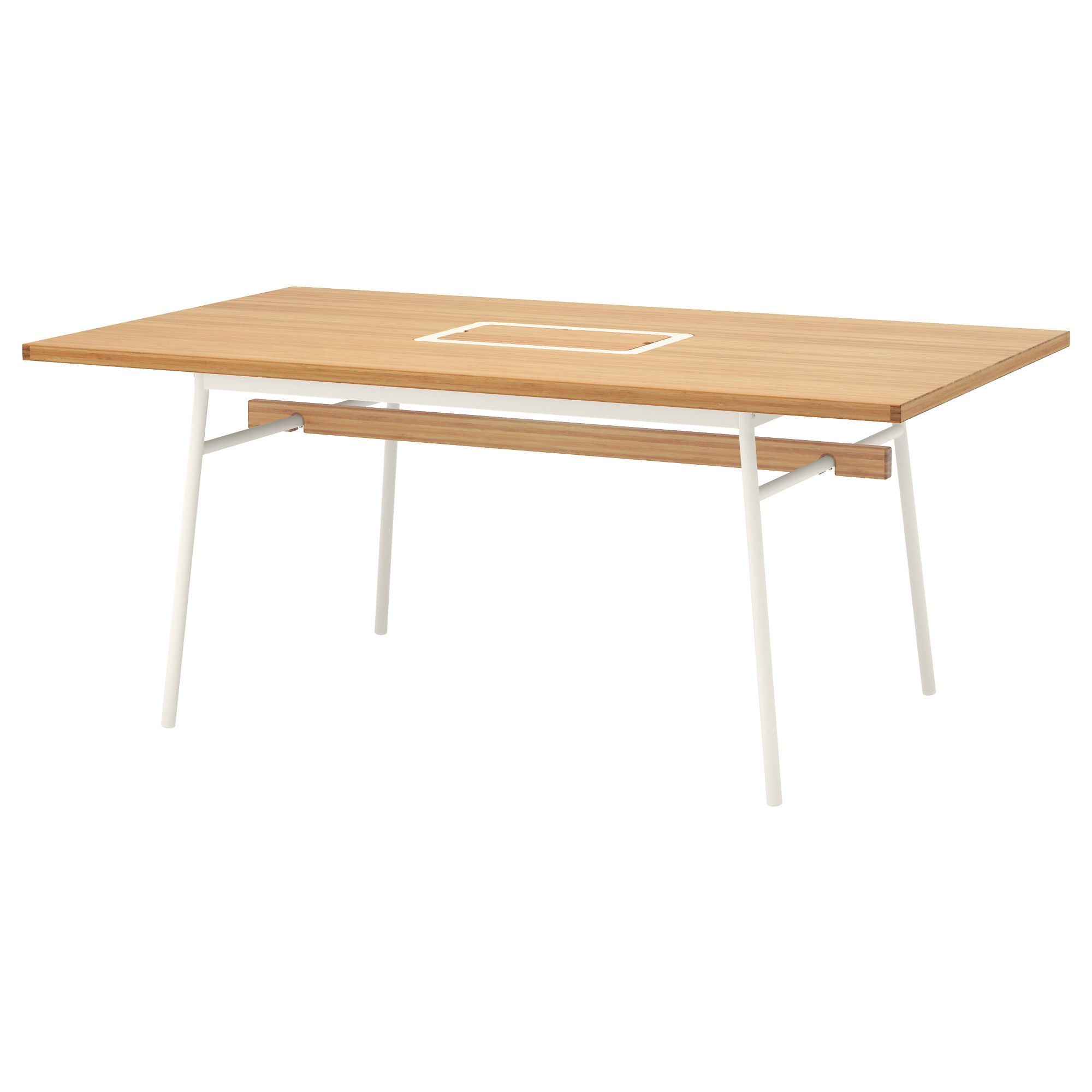 Ikea Vässad Tisch AnvÄndbar Table Bamboo White Ikea Ikea Dining Table