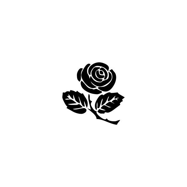20++ Rose bud clipart black and white ideas in 2021