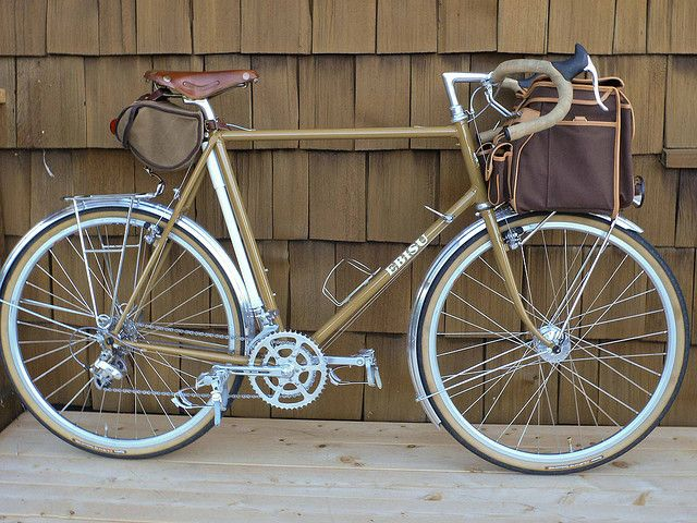 Ebisu In Brown With A Nice Frame Pump Mount Touring Bike Bike