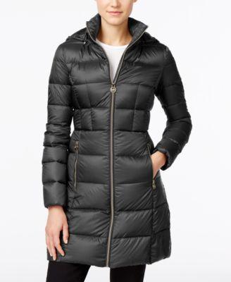 03d5e17a920 MICHAEL KORS Michael Michael Kors Petite Hooded Packable Puffer Coat.   michaelkors  cloth   coats