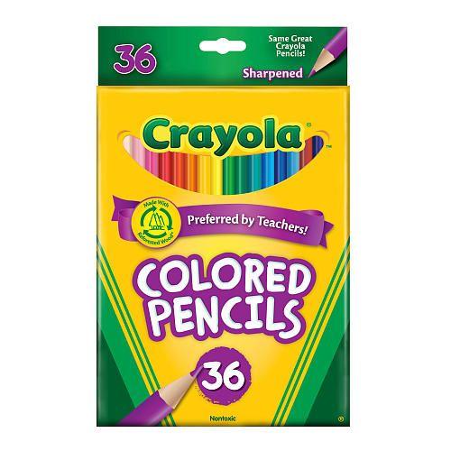 crayola 36 count colored pencils crayola toys