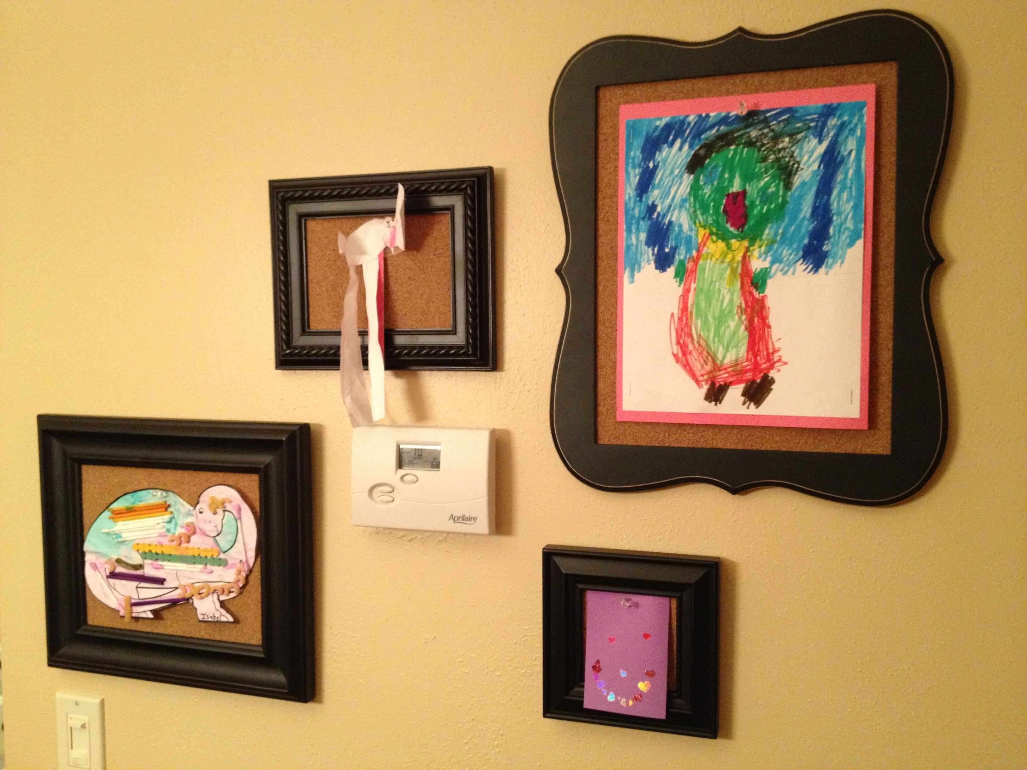 Childs Art Gallery Frames Of Different Sizes Off At Hobby