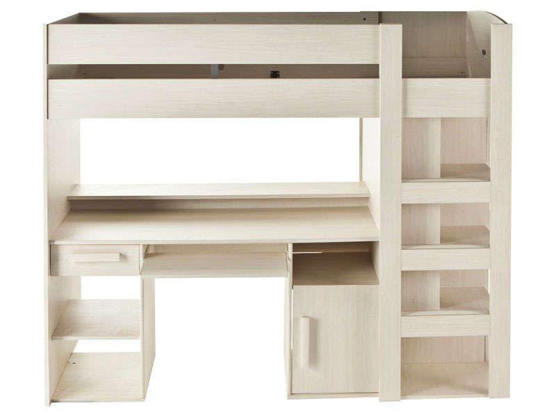 Lit mezzanine 90x200 cm montana meubles pas cher pinterest