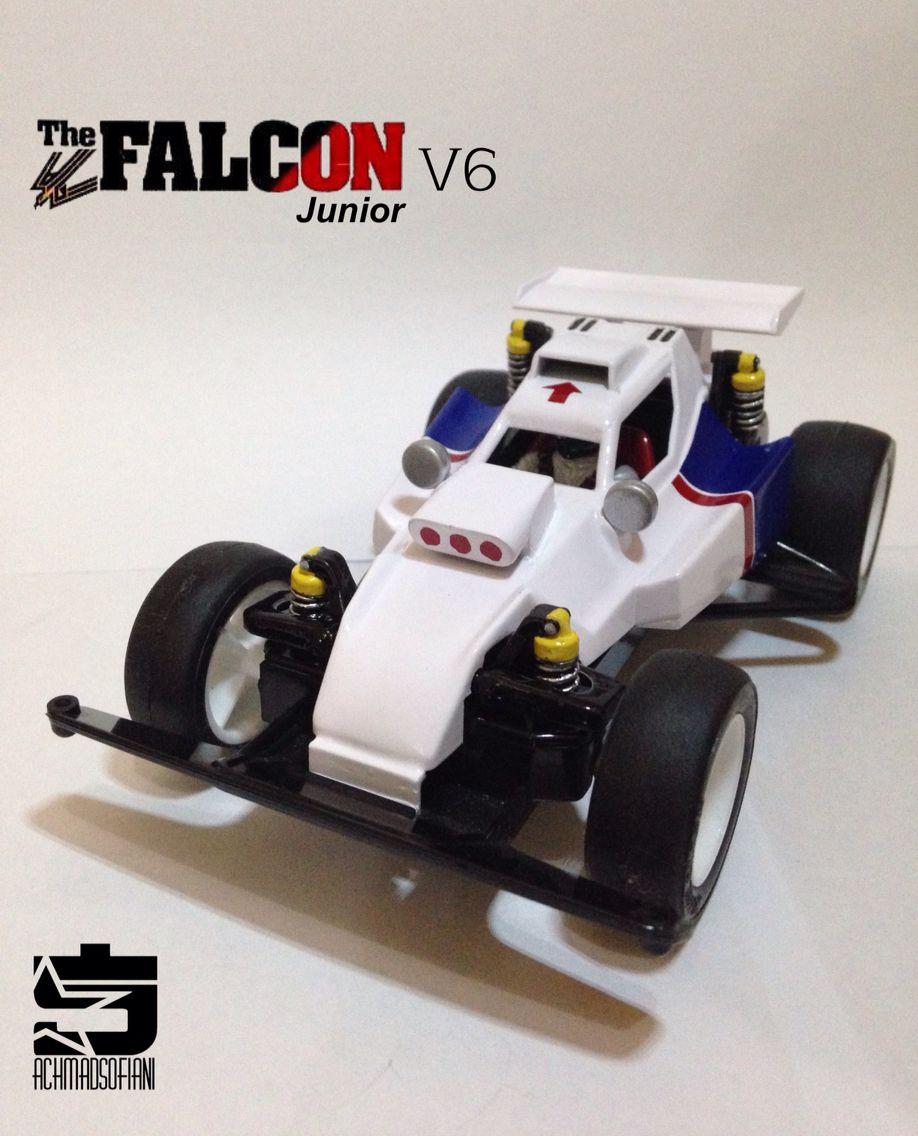 The Falcon Jr V6 ( Shinkuro) Mini 4wd, Tamiya, Toy car