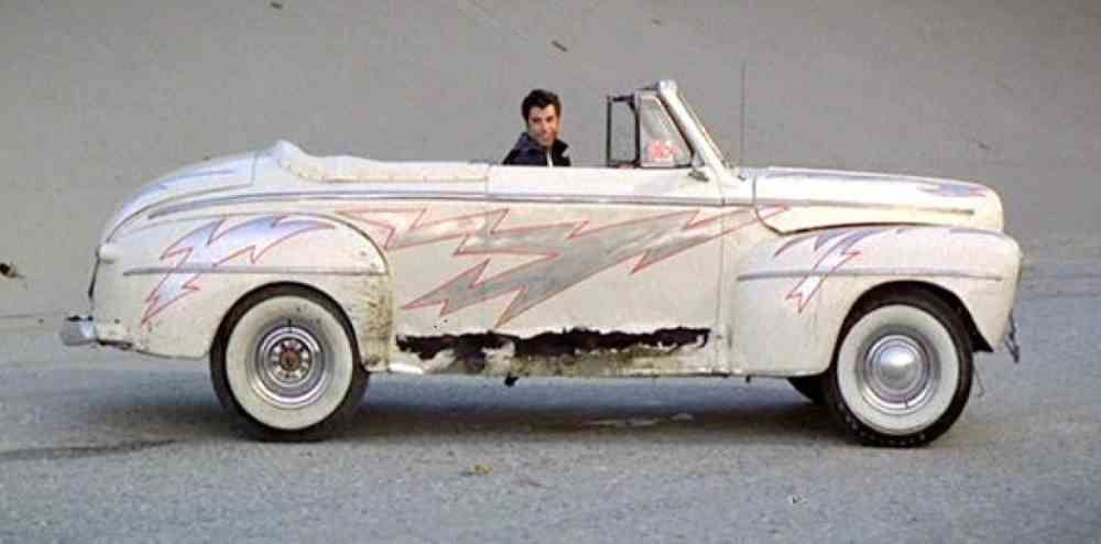 Go greased lightning grease cars driven by john travolta
