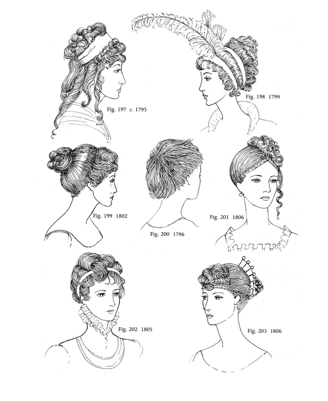 1795 - 1806 - Regency Hairstyles - Fashion History