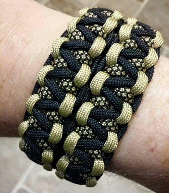 Wide Cobra Paracord Bracelet Paracord Bracelet Patterns
