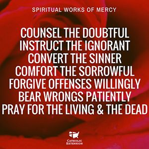 bear wrongs patiently spiritual works of mercy - 300×300
