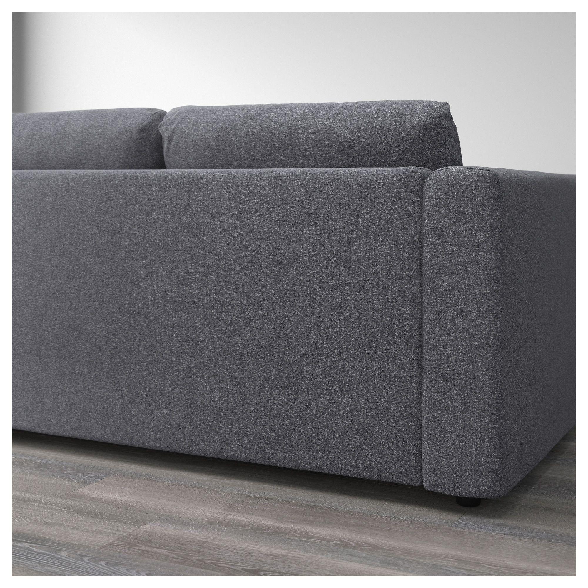Divano Velluto Blu Ikea furniture and home furnishings | ikea vimle, cozy sofa, ikea