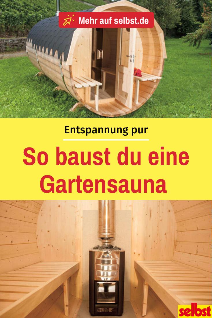 Bauanleitung Gartensauna Selbst De Gartensauna Sauna Im Garten Sauna Selbst Bauen