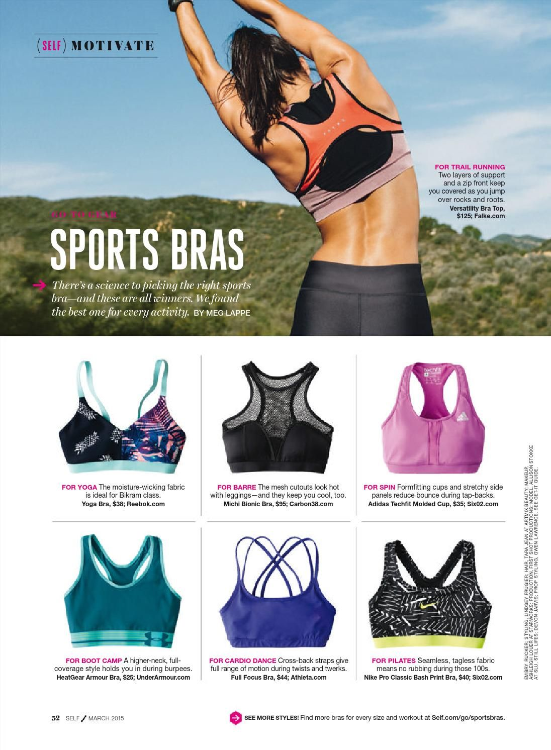 ISSUU Self march 2015 usa by ghfhfgh Workout outfit