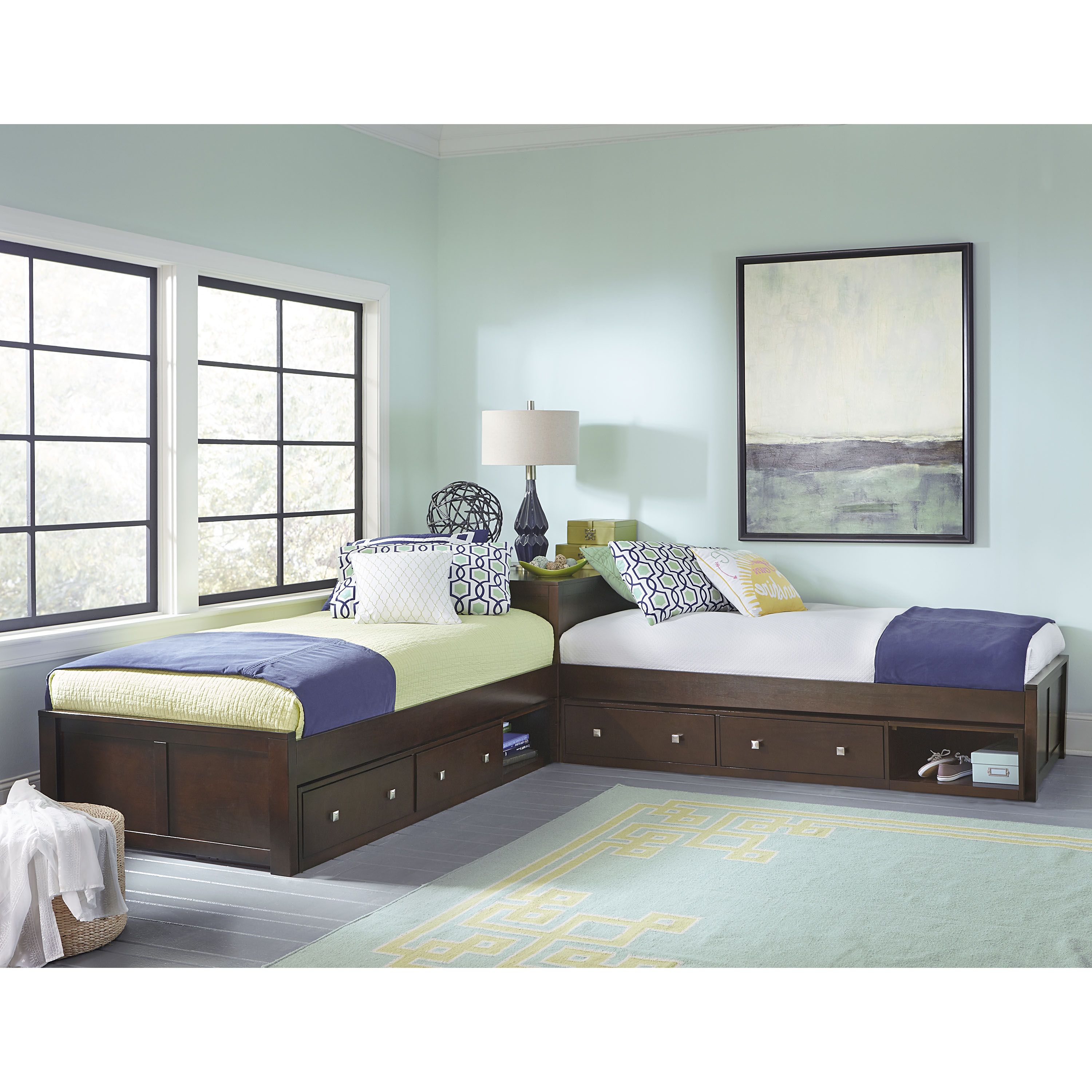 Home L Shaped Beds L Shaped Twin Beds Bedroom Decor