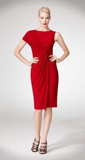 Banish The Appearance Of Belly With This Ruby Red Stunner