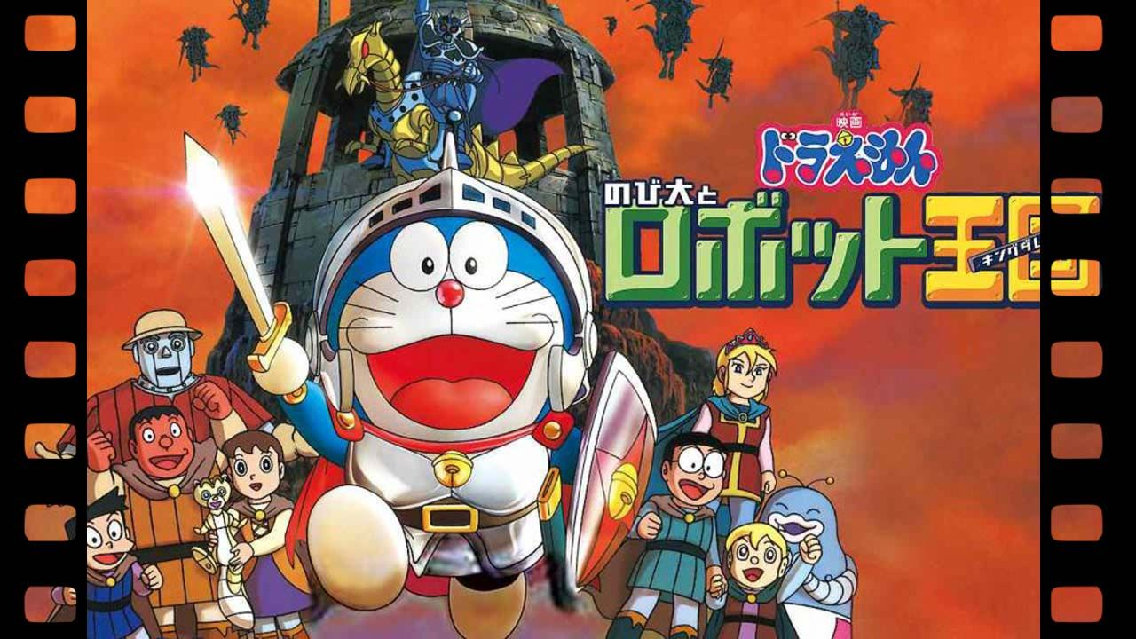 Doraemon The Movie Nobita In The Robot Kingdom Which Was Released In 2002 So Let S Begin The Review Okay So First Kingdom Movie Doraemon Full Movies Download