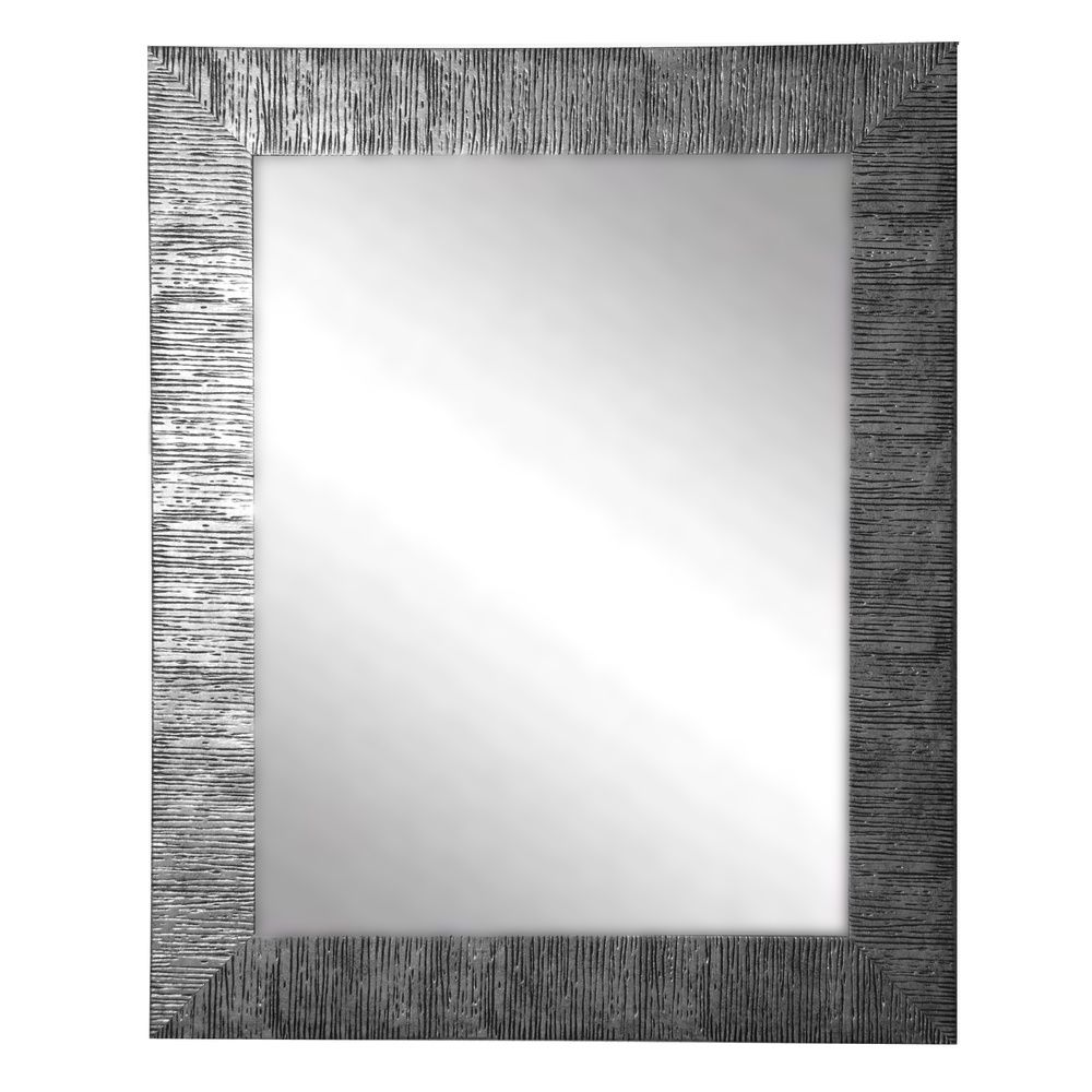 American Made Rayne Silver City Wall Mirror   Overstock.com Shopping ...