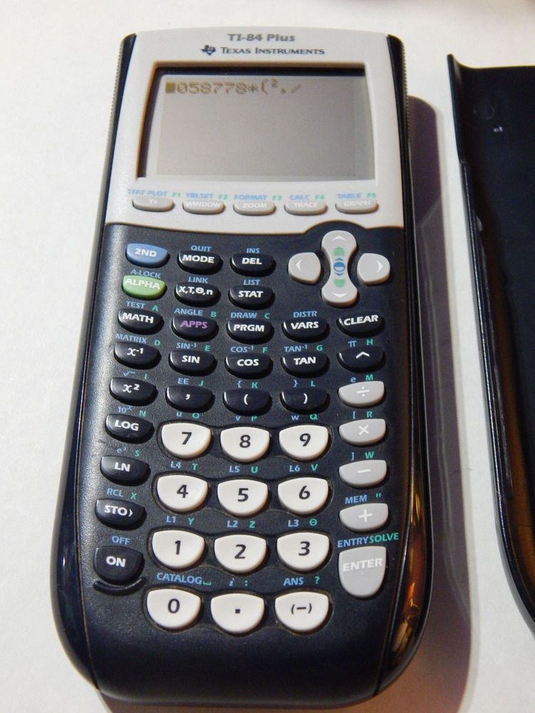 No Reserve Texas Instruments Ti 84 Plus Calculator