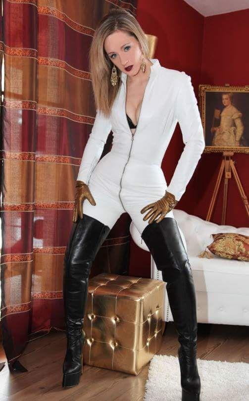 Shoebidoo | Leather mistress - platform boots | Great ...