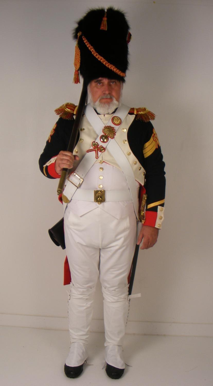Sergente degli zappatori della guardia imperiale francese