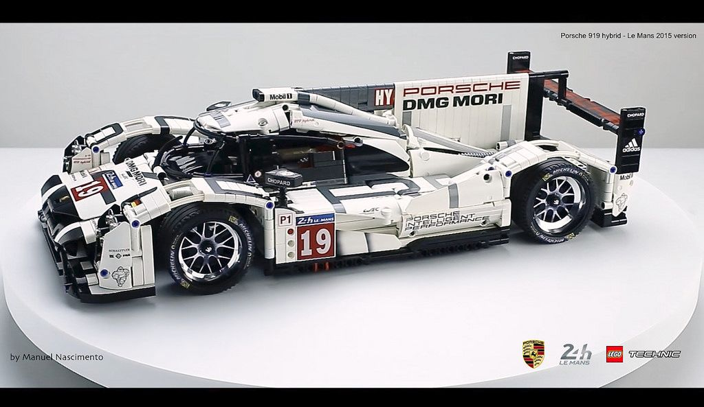 porsche 919 lmp1 lego technic lego cars pinterest. Black Bedroom Furniture Sets. Home Design Ideas