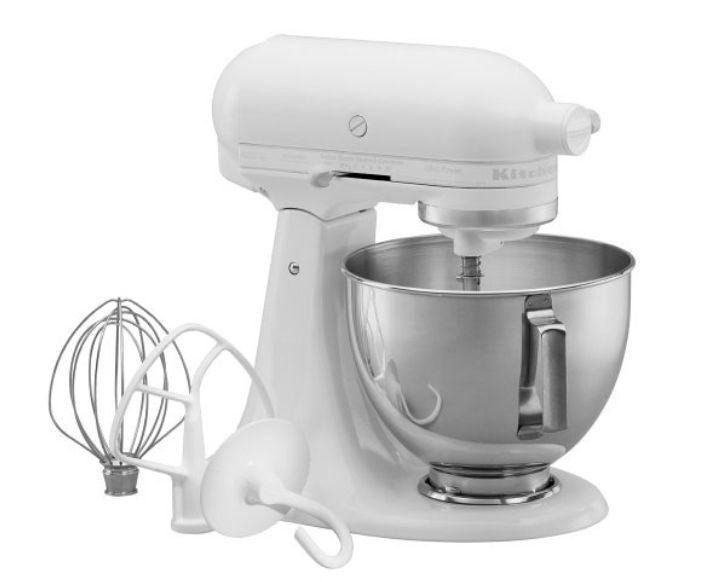 New Kitchenaid Mixer Ultra Power White Ksm90ww 300 Watt 4 5 Quart