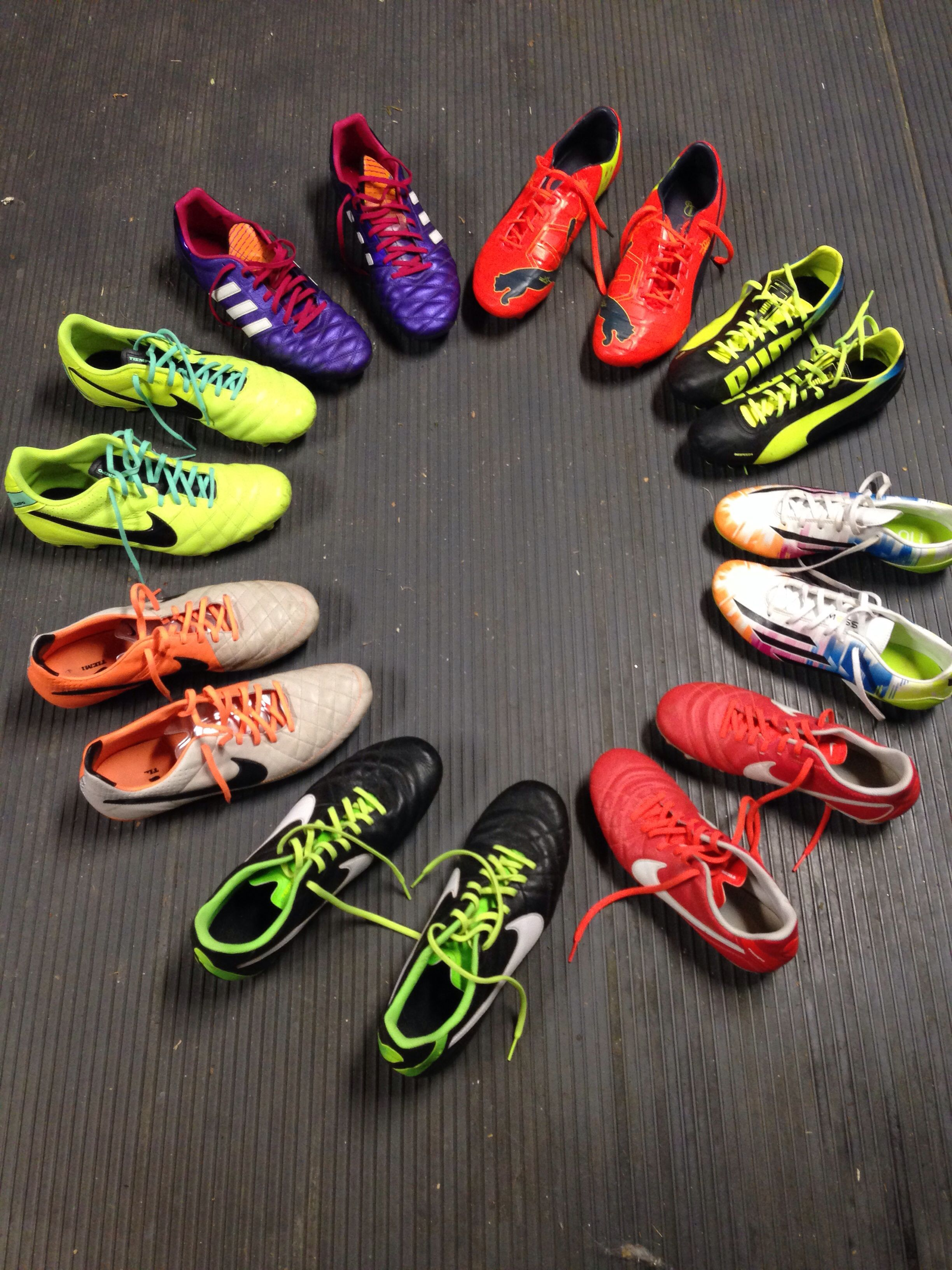 promo code 61e13 e1b39 My wife and I love soccer, here s our boot collection  puma  nike  adidas   soccer  colourway