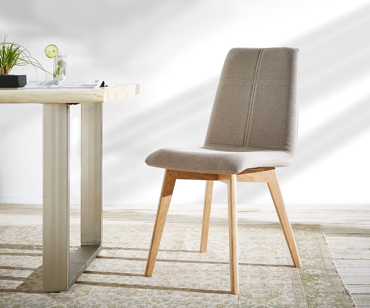 esszimmerstuhl michigan 48x93 taupe chenille optik m bel. Black Bedroom Furniture Sets. Home Design Ideas