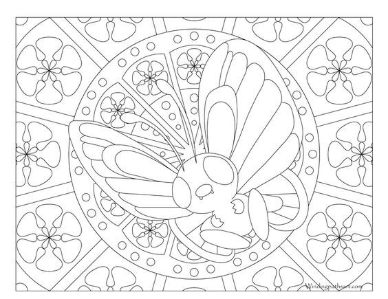 Pin By Crochetwithkim On Coloring Pages For Beads Pokemon