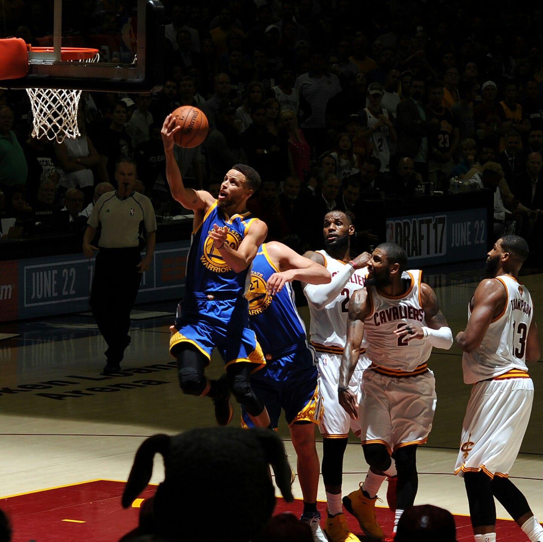 NBA PlayOff Finals 2017 Golden State Warriors Cleveland