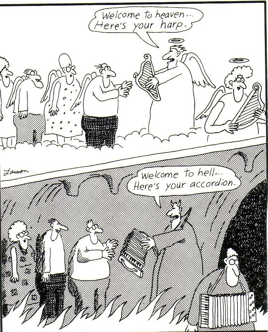 Kuvahaun tulos haulle the far side accordion hell